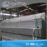 Pipe en acier rectangulaire galvanisée plongée chaude de pipe en acier de soudure de fabrication