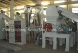 El animal doméstico plástico Lavado de trituración línea de la máquina de reciclaje