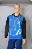 Высокое качество Teamwear Healong спортивной одежды в удлиненной худи сублимации красителей для мужчины