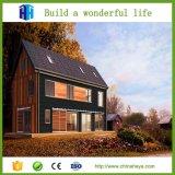 Projetos simples modernos Prefab da elevação da casa da casa de campo da qualidade superior