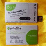 최신 활주 금속 카드 Pendrive USB 플래시 디스크 (YT-3106)