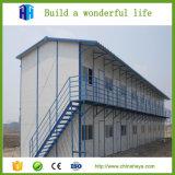Chambre modulaire préfabriquée de Morden de structure métallique de villa d'installation rapide