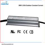 fonte de alimentação ao ar livre do diodo emissor de luz de 80W 1.05A IP67 para a iluminação