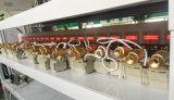 Válvula de esfera motorizada elétrica de bronze chapeada de Dn20 Cr202 220V niquelar 2-Way para o vapor