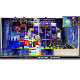 Les enfants de rêve pourpre's Commercial Terrain de jeux intérieur Naughty Château