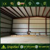 Vertiente modificada para requisitos particulares del almacén de la granja de la estructura de acero del bajo costo