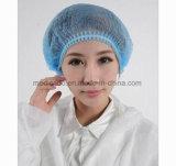 Protezione Bouffant chirurgica medica a gettare/protezione della striscia/protezione dell'infermiera (QDMH-2031)