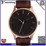 Relojes calientes de los hombres de negocios del cuarzo de la venta Yxl-921, relojes de los militares de los hombres, relojes de los deportes de la correa de cuero de los hombres
