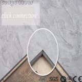 Carrelage de marbre de luxe de vinyle de PVC de regard