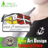 Emblema macio relativo à promoção barato feito sob encomenda do Pin de Malaysia do metal do esmalte