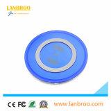 LEDを持つ新しいデザイン熱い供給の無線充電器は満たすとき明確な円をつける