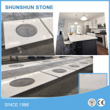 Eco-Friendly Quartz Kitchen Furniture Countertop with Cabinets