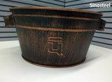 簡単な様式レトロデザイン銅の植木鉢及びプランター