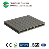 Durable Hollow Wood Plastic Composite Outdoor Floor (HLM165)