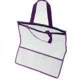 Custom молнией закрытия не подпольную сеть магазинов женская сумка с окна из ПВХ
