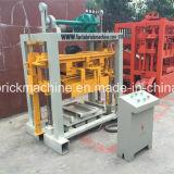 Preço oco concreto semiautomático da máquina do tijolo