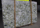Nouveau marbre de dentelle en pierre naturelle vert émeraude populaire sur la promotion