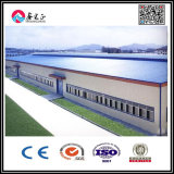La estructura de acero de la fábrica profesional del diseño/prefabricó el edificio de Facrory/el edificio del taller/vertido