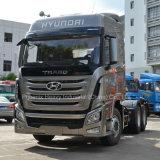 6X4 410HP四川ヒュンダイの重義務Tractor Truck