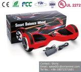 Cer RoHS EMC UL2272 bescheinigte zwei Räder elektrisches Hoverboard, Selbstausgleich-Roller, Selbstbalancierender Roller im Blau