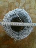 Электрическая гальванизированная загородка сетки колючей проволоки