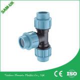 Dimensioni degli accessori per tubi del polipropilene dei montaggi di tubo