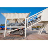 Ready Mix Precast Concrete Batching Plant Mobile pour la vente