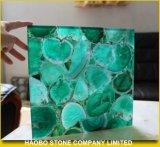 Onyx verde, mattonelle verdi della pietra della giada