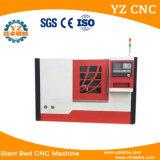 기우는 침대 높은 정밀도 자동적인 CNC 도는 맷돌로 가는 합성 센터