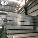 Construction de construction, pipe en acier galvanisée