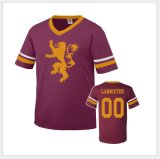 Le football occasionnel Jersey de chemise de circuit du football de T-shirt en gros