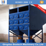Precio de descuento el tipo de cartucho colector de polvo de granos de óxido de aluminio