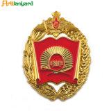 Emblema de esmalte macio com logotipo de Design Personalizado