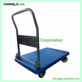 Carrinho de plataforma do veículo Carrinho de paletes de plástico do carrinho de bagagem