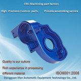 Sandblast en aluminium anodisé bleu7075 Personnaliser Usinage de précision partie CNC de fraisage