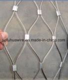 Maglia della corda tessuta mano dell'acciaio inossidabile per il giardino zoologico