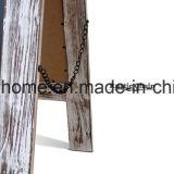 無作法な型木の水漆喰を塗られた磁気フレームの黒板