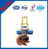 Draga idraulica di aspirazione della tagliatrice di estrazione mineraria della sabbia