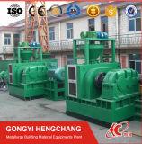 無理やり与える油圧鉱石の沈積物の煉炭押す機械