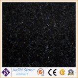 G654 de la Galaxia Negro Diamante Negro losa grande edificio de granito baldosas para pisos de Material