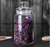 Vaso di muratore di vetro con la protezione del metallo
