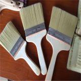 Miscela sintetica e pura della maniglia di legno del pennello della setola