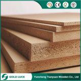 12m m tablero de madera aglomerada de 15m m conglomerado llanos/sin procesar de la cara/