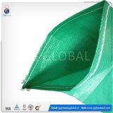 Saco de tecido PP verde para as embalagens de sementes de 50kg