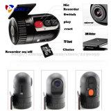 Caméra DVR à caméra particulière en forme de balle sans navigation d'écran Enregistreur de données de voyage du véhicule Sos Lock Enregistrement d'urgence