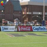 Bandera larga colgante de la cerca del vinilo
