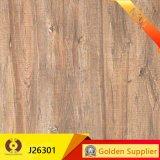 azulejo de suelo de cerámica rústico de la mirada de madera de 600X600m m (J26304)