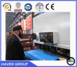 CNCの薄い鉄板の金属のステンレス鋼の打抜き機のせん断の版の機械装置は油圧せん断の振動ビームカッターを使用した