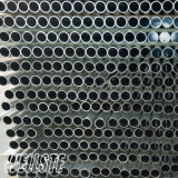 Cortina de aluminio sacada Rod del tubo del tubo redondo de aluminio