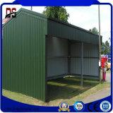 Construction galvanisée par prix bas de structure métallique pour le garage de véhicule